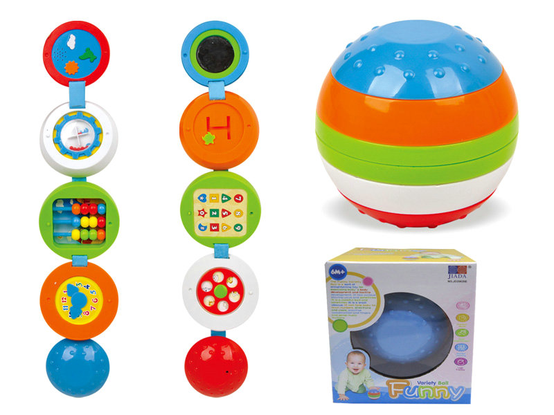 Plastic ball toy variety ball educational toy