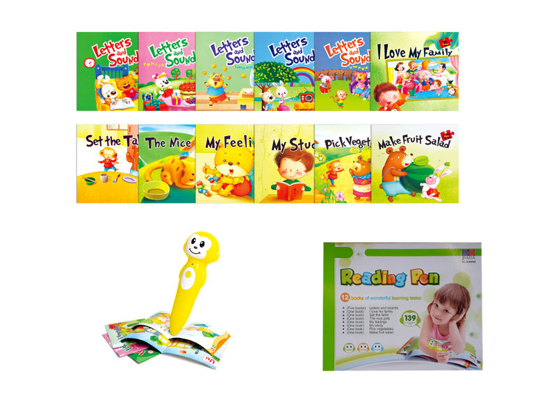 English reading pen educational toy reading toy