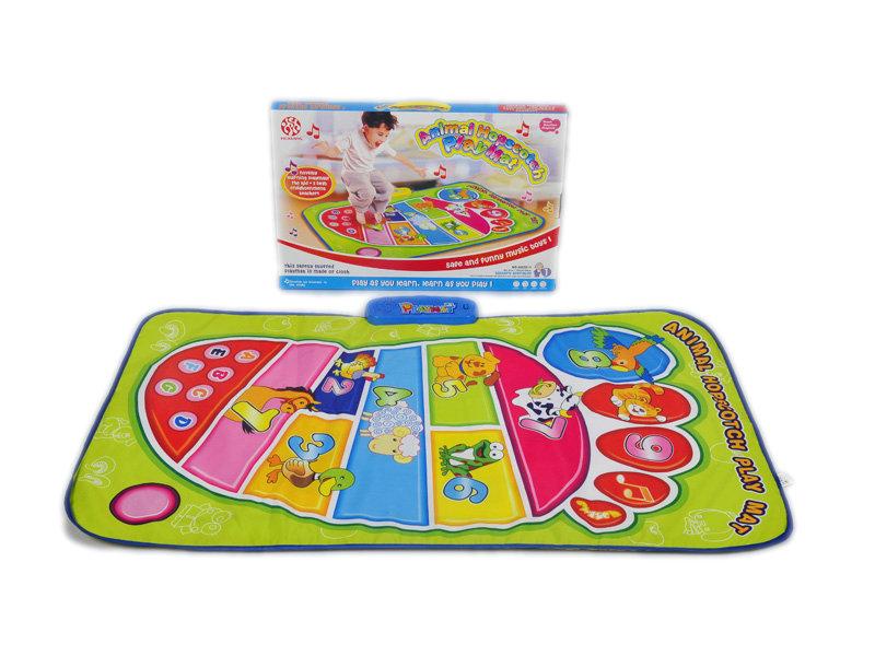 Hopscotch playmat Animal mat toy cartoon toy