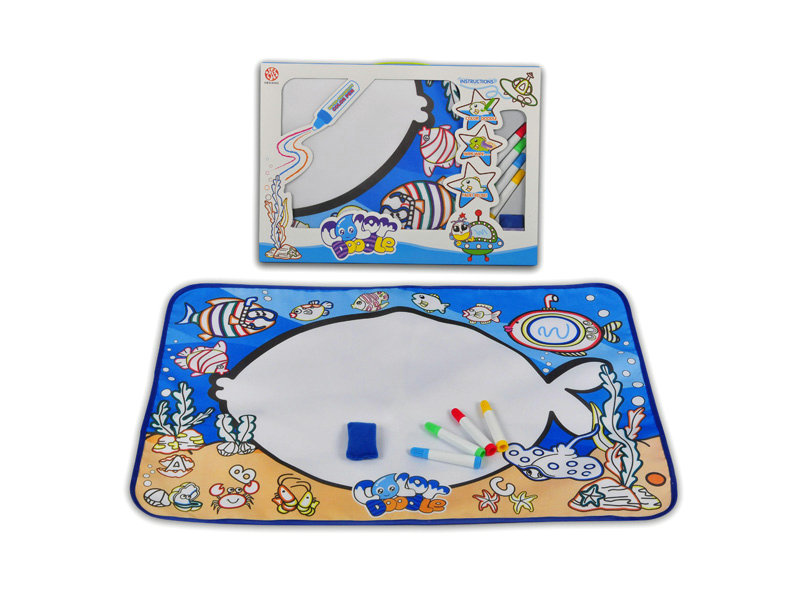 Doodle canvas painting toy educational toy