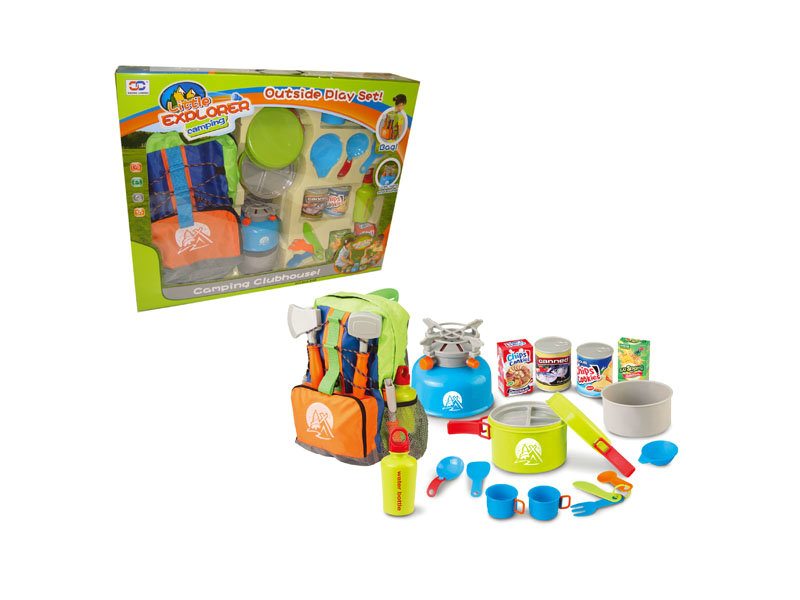 Camping toy set Outdoor play set funny game toy