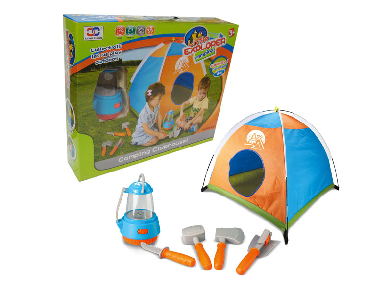 Camping Toys Product : Tent play set camping toy funny game