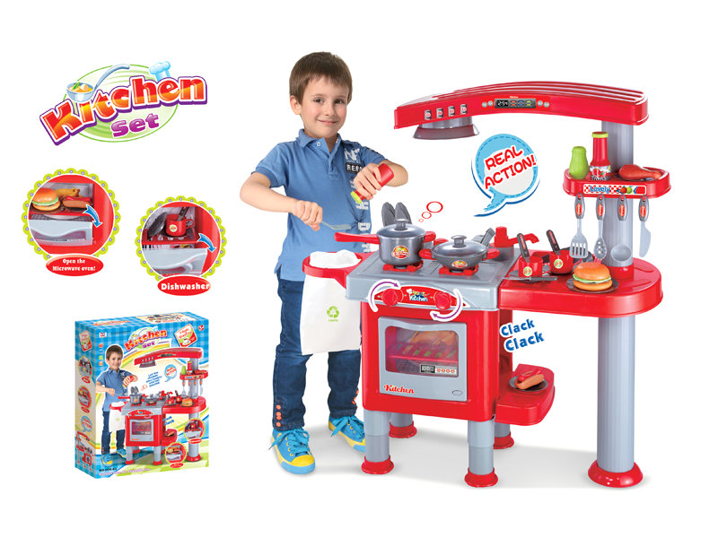 Kitchen set plastic kitchen toy house pretend toy