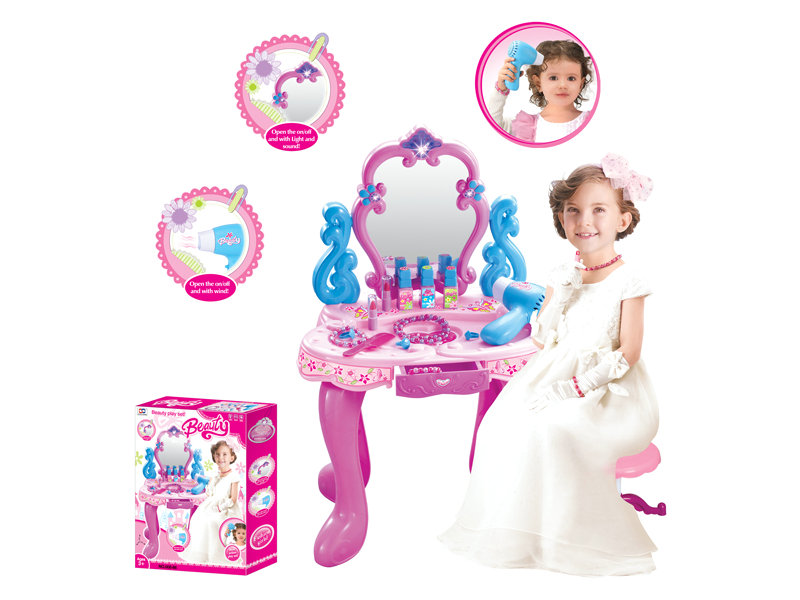 Dresser toy play pretend toy educational toy