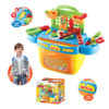 Tools play set tool bucket funny game toy