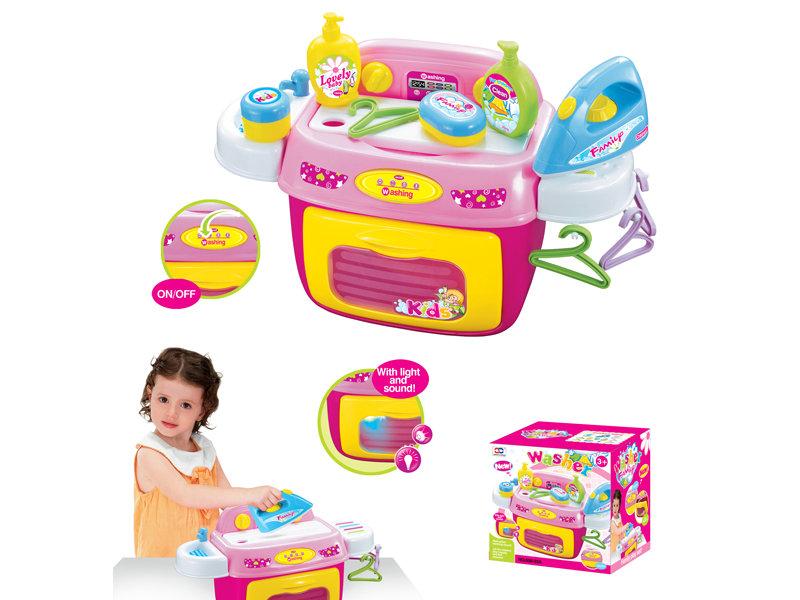 Washing machine toy kitchen toy pretend toy