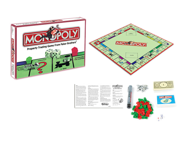 Monopoly game board game toy funny toy