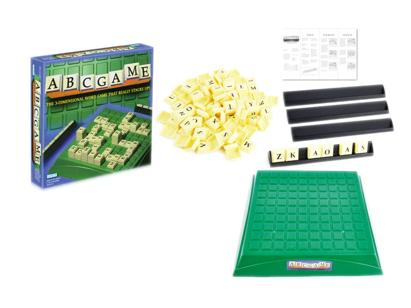 scrabble game board game toy intelligent toy
