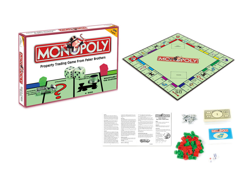 Monopoly game board game toy funny game toy