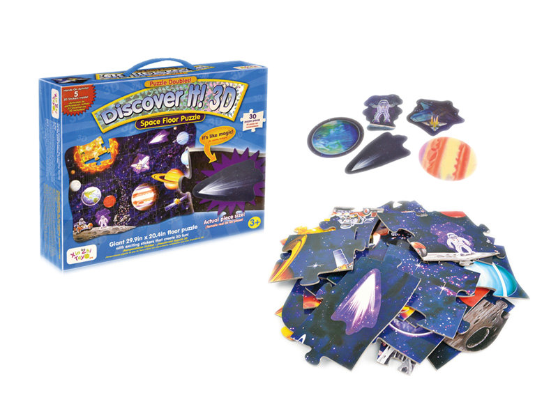 3D puzzle game  board game toy intelligent toy