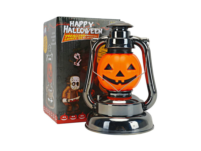 B/O lamp pumpkin lamp toy with light and voice