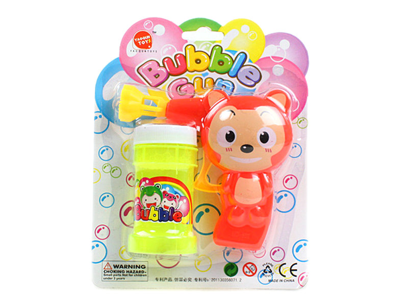 Bubble gun cartoon toy bubble toy