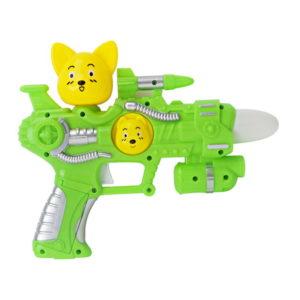 cute gun toy plastic toy cartoon toy