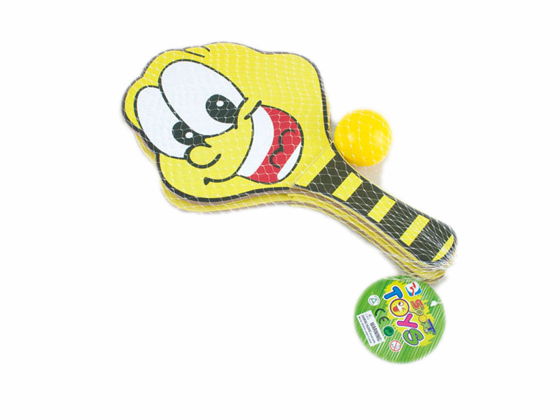 frog racket cartoon toy cute toy