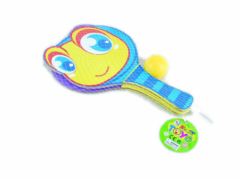 cartoon rackrt animal toy outdoor toy