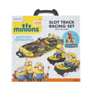 Minions track toy car toy cute toy