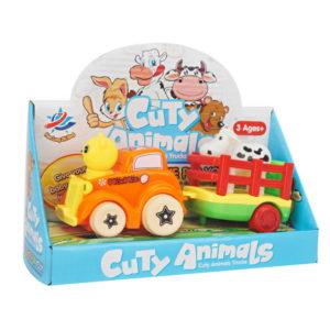 farm toy vehicle animal toy car toy