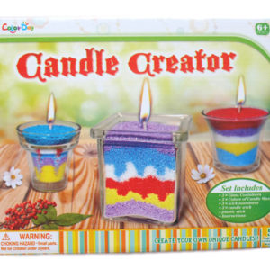 Candle creator toy creative toy educational toy