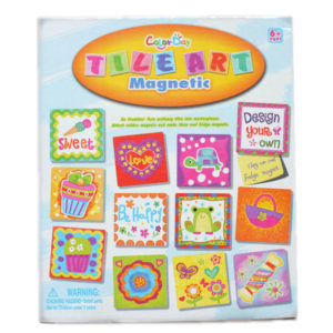 Tile art toy magnet toy creative toy