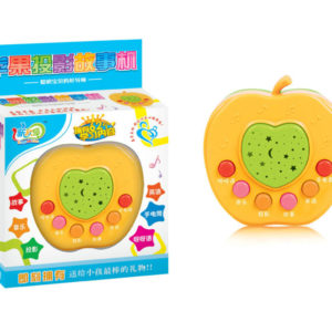 Story machine apple shape toy cartoon toy