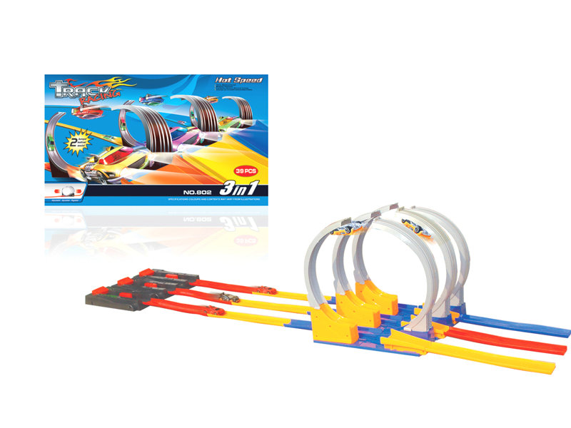Lauching track car railway car toy vehicle toy