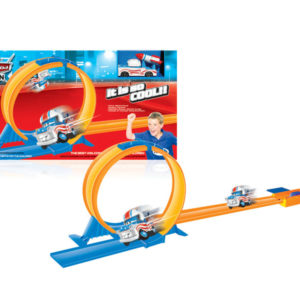 Lauching car toy track car toy vehicle toy