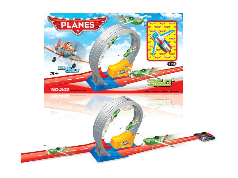 Railway toy railway plane toy vehicle