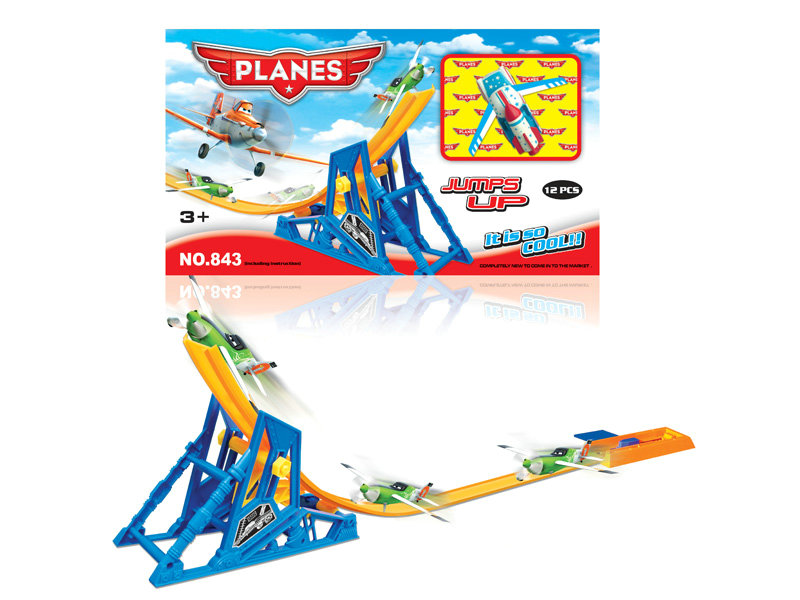 Railway toy railway plane toy vehicle