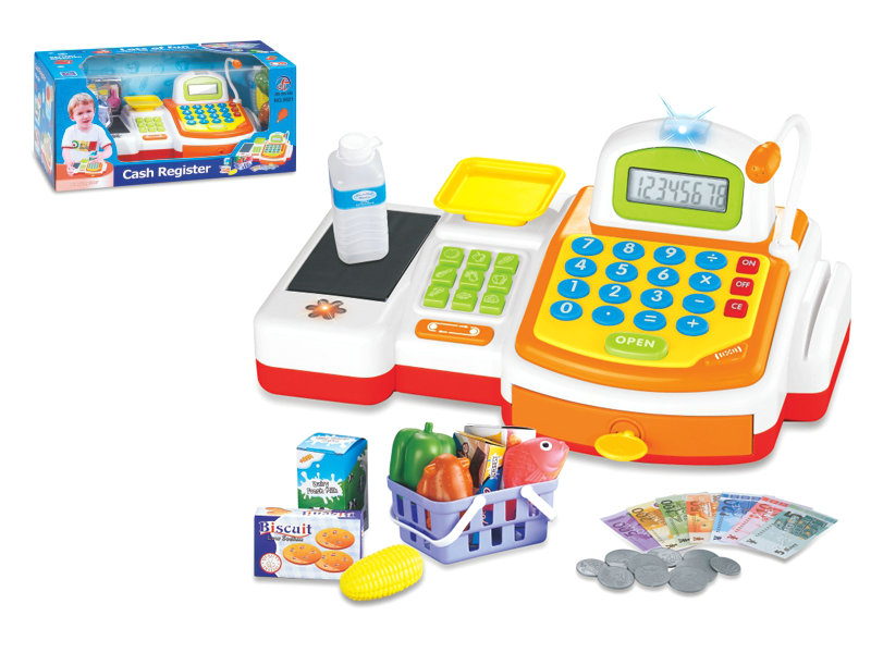 supermarket toy Cash register toy role play toy