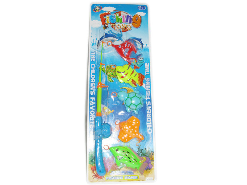 Fishing set funny toy fishing play toy
