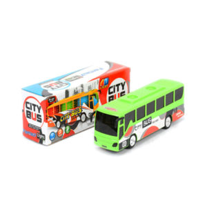 B/O toy city bus toy vehicle toy