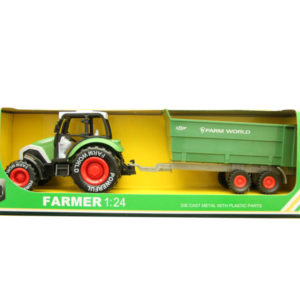 Metal farmer car pull back car toy vehicle toy