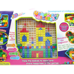 DIY Puzzle building block intelligence toy