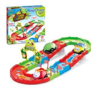 B/O track car railway toy cartoon toy