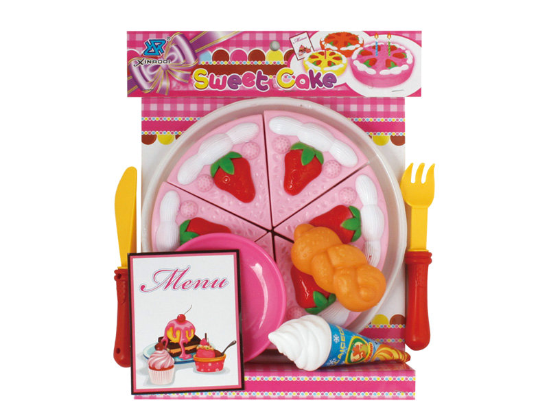 Pizza set toy cake play set toy house play toy