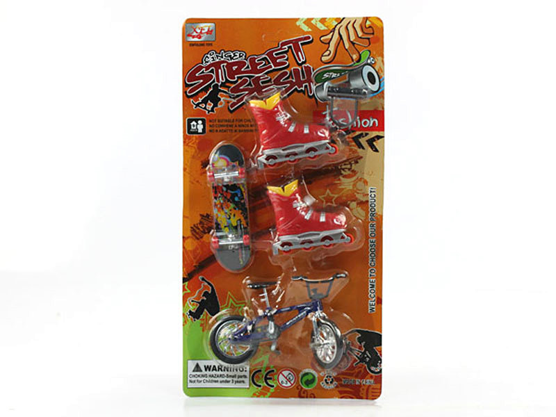 Finger bicycle finger toy small toy