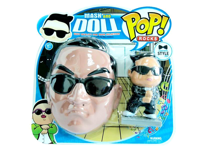 Money pot cartoon mask funny toy