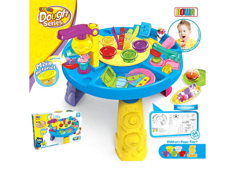 Color dough set role play toy children toy