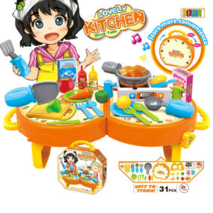 Kitchen utensils toy role play toy house play toy