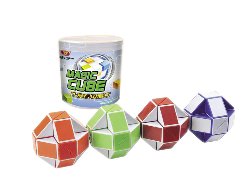 Magic snake toy magic cube educational toy