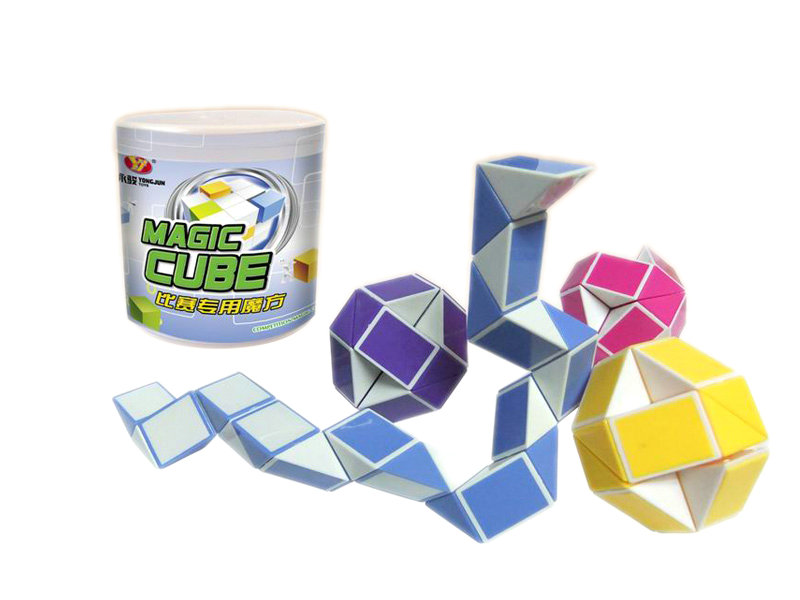 24 section magic snakes magic cube educational toy