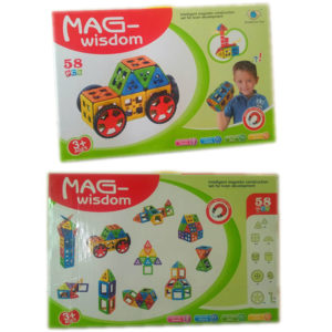 Magnetic block toy contruction block educational toy