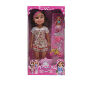 18 Inch girl doll cartoon toy funny toy