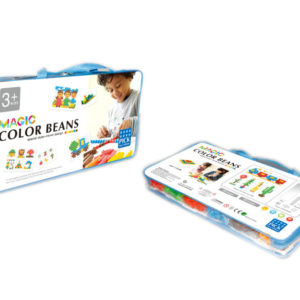Beans puzzle color bean toy educational toy