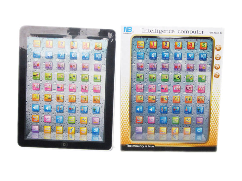 Learning ipad with English&Arabic language(2 color asst)