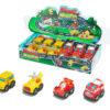 Free wheel car cartoon car toy vehicle