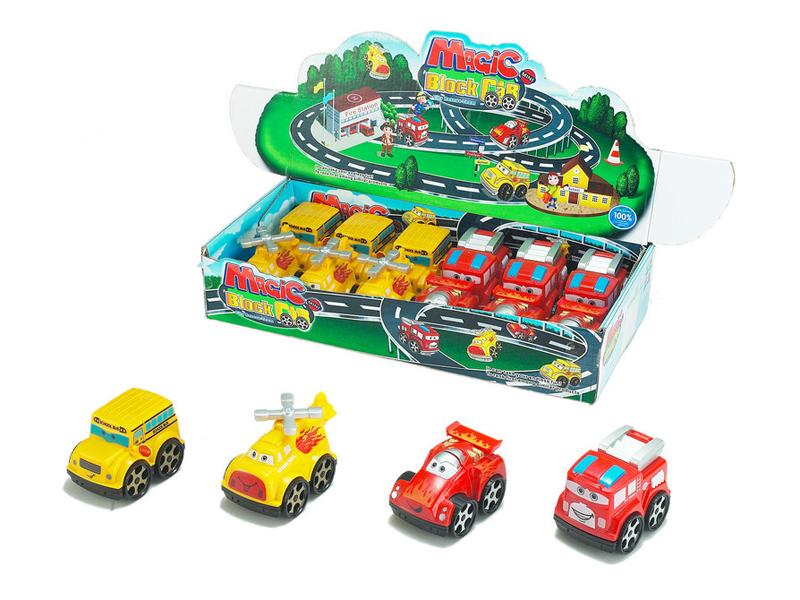 Free wheel car cartoon car toy vehicle