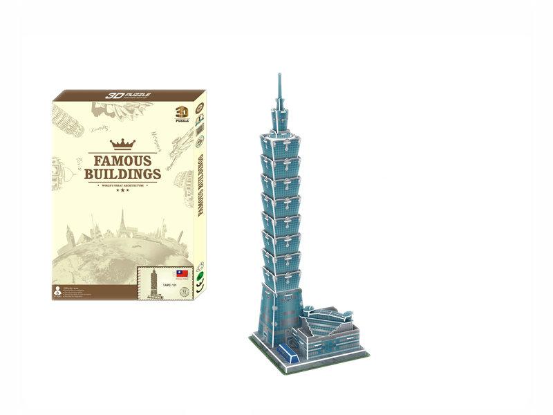 3D puzzle DIY puzzle toy educational toy