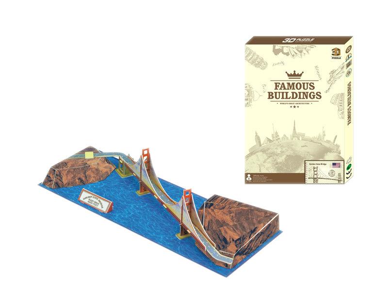 Golden gate bridge puzzle 3D puzzle educational toy