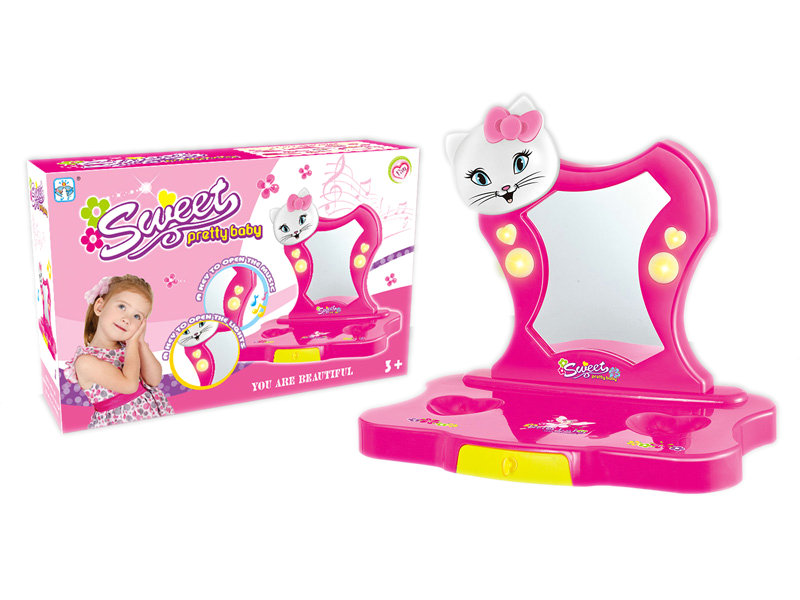Girl pretend toy dresser toy role play toy